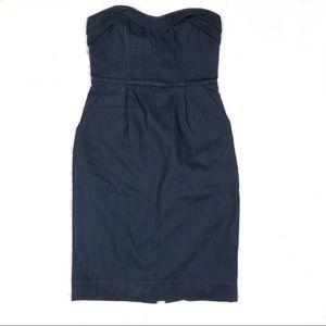 A/X Armani Exchange Strapless Denim Dress, 2.